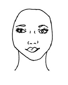 O Formato de Rosto Oval