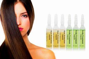 Ampolas para os cabelos