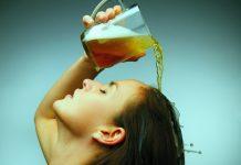 Cerveja no Cabelo