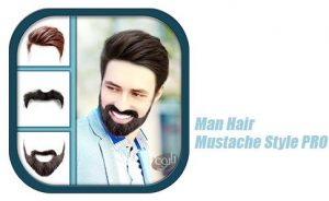 Simulador de Corte de Cabelo Men Mustache And Hair Styles