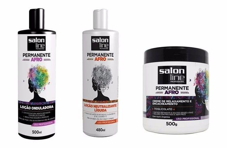 Permanente Afro salon line